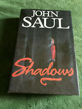 SHADOWS by John Saul. Hardcover FIRST UK edition Inner Circle 1992 Very Good