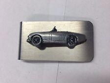 Austin Healey Frog Eyed ref16 pewter effect car emblem on a stunning Money Cli