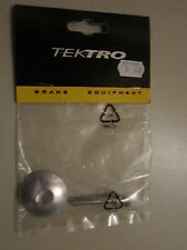 "TEKTRO AHEADSET HEAD CAP-1 1/8""-SILVER=BOLT INCLUDED"