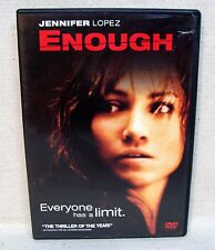 Enough DVD Rated PG-13 Used