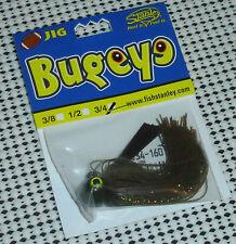 Stanley Bugeye Football Jig 3/4oz FBJ34-160 Watermelon Chartreuse/ Orange Accent