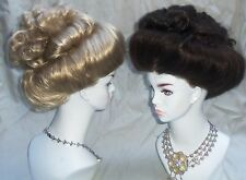Victorian/ edwardian Gibson style lace front wig sass choice of colors