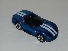 Hot Wheels Dodge Viper RT/10 MF Blue Black Interior & Base - Rare Malaysia 1999
