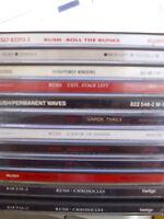 Rush- 12 CDs- lesen!