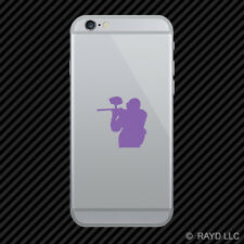 (2x) Paintball Cell Phone Sticker Mobile #2 many colors