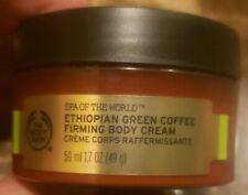 The Body Shop Spa of the World Ethiopian Green Coffee Firming Body Cream 1.7 Oz
