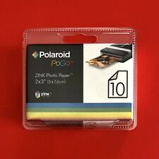 Polaroid PoGo ZINK Sticker Photo Paper Film for Snap Touch 2 x 3''  10 Pack