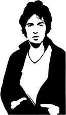 Bruce Springsteen #1 VINYL DECAL Darkness on the Edge of Town car window, laptop