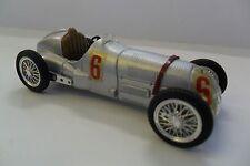 BRUMM 1:43 AUTO DIE CAST MERCEDES W125 1937 #6 ARGENTO SILVER  ART R070