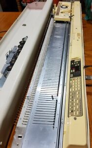 New ListingKnit King Bulky/Brother Kh270 Electronic knitting Machine with Kr260E Ribber