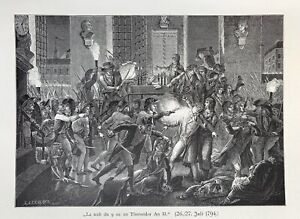 Robespierre - Maximilien de Robespierre - 9 Thermidor - 1794 - la Terreur -Paris