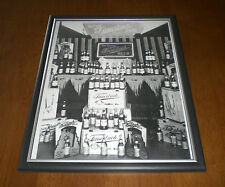 Fauerbach Beer Framed B&W Print Madison Wis.