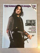 THE Sunday Times Magazine il Signore Degli Anelli Edizione Speciale 2003 Aragorn