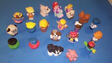 Lot Of 20 Fisher Price Little People Disney Animals Klip Klop Horses +