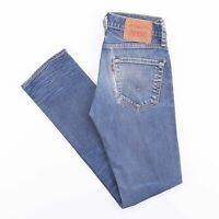 Vintage LEVI'S 511 Slim Straight Fit Men's Blue Distressed Jeans W29 L32