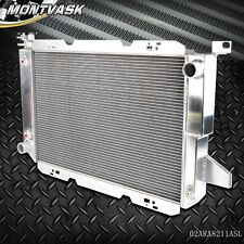 New GPLUS Aluminum Radiator For 85--97 FORD PICKUP BRONCO V8 F150 F250