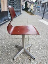Elmar Flötotto Für Pagholz - Stuhl Kinder- Design Vintage 1970s