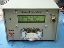 NORCAL Power/SWR Meter UNBUILT KIT Amateur Radio Ham QRP HF w/case