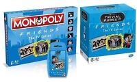 FRIENDS Combo/Bundle - Monopoly, Trivial Pursuit & Top Trumps