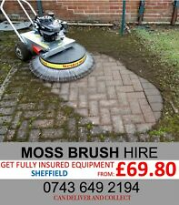 More details for moss brush / weed clearer for hire