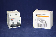 Merlin Gerin - NC100H 27307 multi9 Circuit Breaker, 2 Pole, 63 Amp