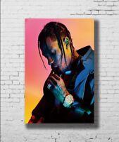 Hot Juice WRLD Rap Hip Hop Music Star Singer Fabric 14x21 27x40 Poster T661