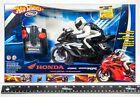 Radio Control Motorcycle Black Hot Wheels RC Honda CBR 1000RR 49MHz SEALED RARE
