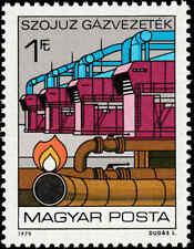 Scott # 2581 - 1979 - ' Natural Gas Pipeline & Compressor '
