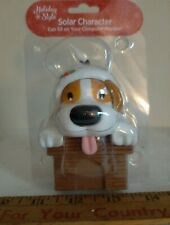 New Solar Dancing Wagging Tail, Tongue Bobble Dancer Toy Christmas Dog Toy