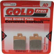 Sintered Goldfren Brake Pads For Piaggio Liberty 150 Front RH 2008-2009