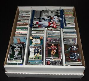 HUGE 1,250+ SPORTS FOOTBALL CARD COLLECTION ROOKIE PARALLEL HOF STAR INSERT LOT!