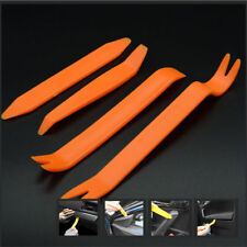 4x CAR AUDIO DOOR CLIP PANEL TRIM DASH AUTO RADIO REMOVAL PRY DEVICE TOOL SET