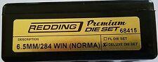 68415 REDDING 3-DIE PREMIUM DELUXE BOTTLE NECK SET - 6.5 x 284 NORMA - BRAND NEW