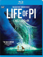 Life of Pi (Blu-ray/DVD, 2013, 3-Disc Collector's Edition)