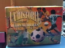 """La Historia De Los Mundiales Desde 1930 Hasta 1998"" Vols. 11-20 Video Tape Set"