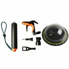 Underwater Dive Dome Port Shutter Trigger for GoPro Hero5 6 7 Black Silver White