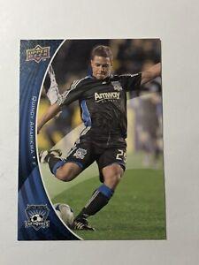 Soccer - 2010 MLS - Season - Card -San Jose Earthquakes Quincy Amarikwa Card#143