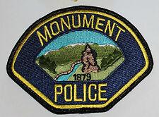 MONUMENT POLICE Colorado CO PD Colo patch
