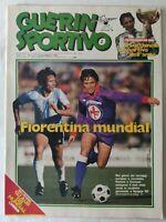 GUERIN SPORTIVO 2/1982 FILM DEL CAMPIONATO GLI ALBI DEL MUNDIAL CAMERUN JUNIOR