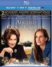 August: Osage County (Blu-ray Disc, 2014) Meryl Streep Julia Roberts