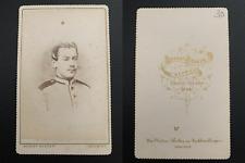 Becker, Neuwied, Kochs Vintage albumen carte de visite, CDV. Album de régiment a