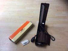 Vintage Accoson Blood Pressure Monitor Sphygmomanometer in Hard Plastic Case