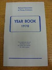1970 Cricket: National Association Of Young Cricketers - Yearbook. Thanks for ta