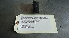 window regulator switch 1 manier Skoda Octavia 1Z  1.9TDI 77kW BJB 33814