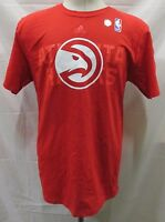 Atlanta Hawks Men's Short Sleeve Big Logo T-Shirt adidas Red Men's S