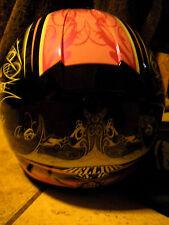 HJC Ladies Motorcycle Helmet PINK AND BLACK SIZE LARGE