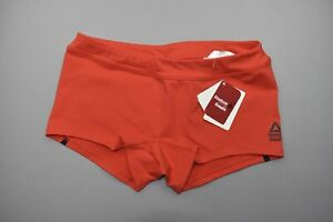 NEW Reebok Women's Crossfit Red RC Chase Athletic Shorts Size M