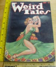 WEIRD TALES November 1933 pulp magazine VINTAGE CL Moore Brundage Sexy cover