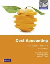Cost Accounting,Charles Horngren, Srikant M. Datar, Madhav Rajan