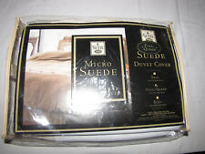 Suite 109 Micro Suede Duvet Cover - Full / Queen Brand New